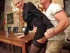 German Slut Thrashed