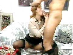 Classic Action As Hot Whore Fucked Deep And Spunked On