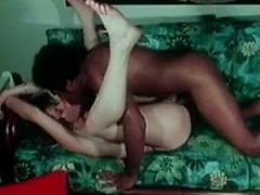 Classic Milf Fucking Her Lover On The New Sofa