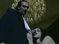 Horny Slut Hogging His Dick Just For Herself