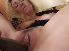 Mature Blonde Spreads Her Legs And Asshole