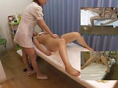 Woman Gets Her Sexy Body Oiled And Her Pussy Played With