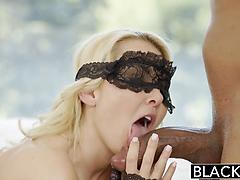 Petite Aaliyah Taking On A Monster Cock