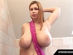 Busty Chick Tells Terry Nova About Herself